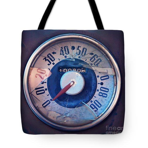 Vintage Speed Indicator  Tote Bag by Priska Wettstein