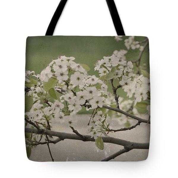 Vintage Spring Tote Bag