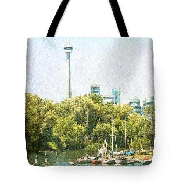 Vintage Toronto Tote Bag