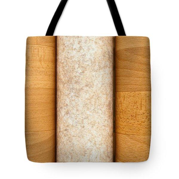Vinyl Flooring Tote Bag by Tom Gowanlock