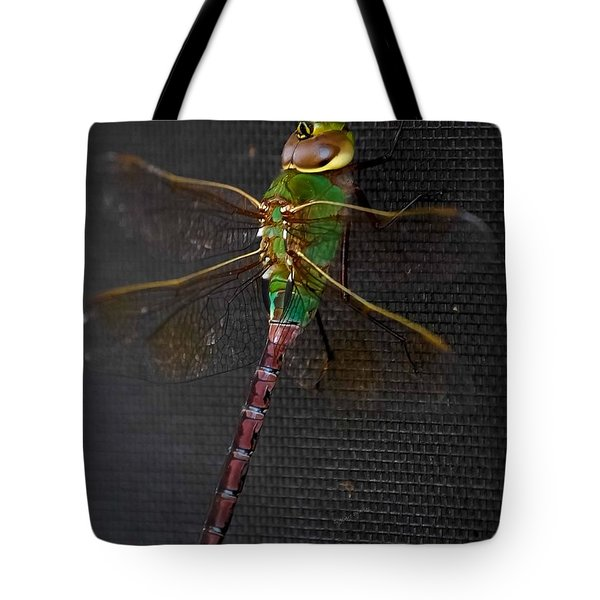Violet Tail Damsel Tote Bag by DigiArt Diaries by Vicky B Fuller