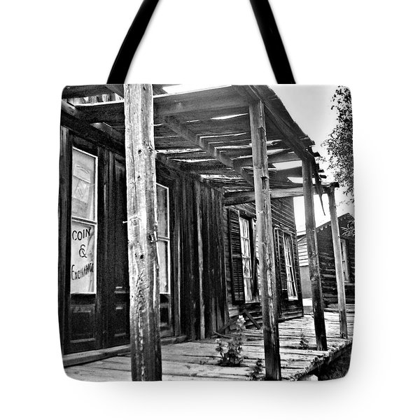 Virginia City Brewery Area Tote Bag by Susan Kinney
