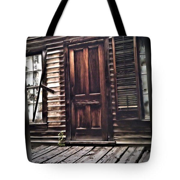 Virginia City Ghost Town Door I Tote Bag