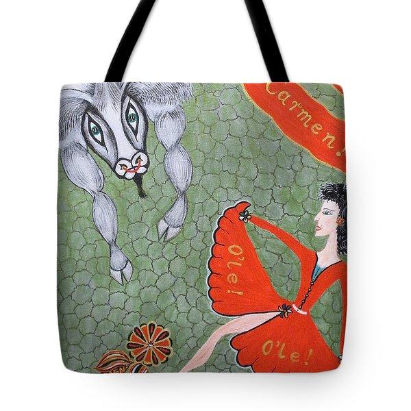 Viva Dona Carmen Tote Bag