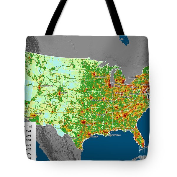 Vulcan Co2 Maps Tote Bag by Nasa