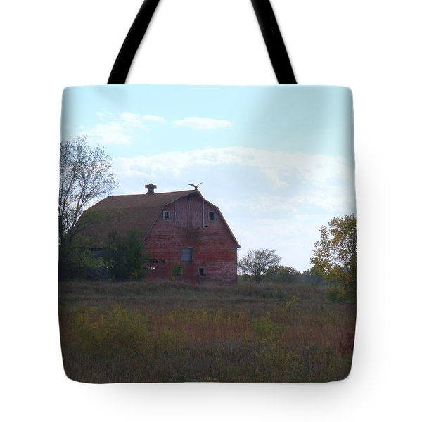 Vulture Barn Tote Bag