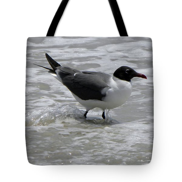 Wading Tote Bag by Sandi OReilly