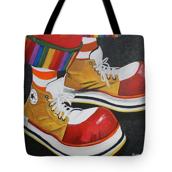 Waffle's Shoes Tote Bag
