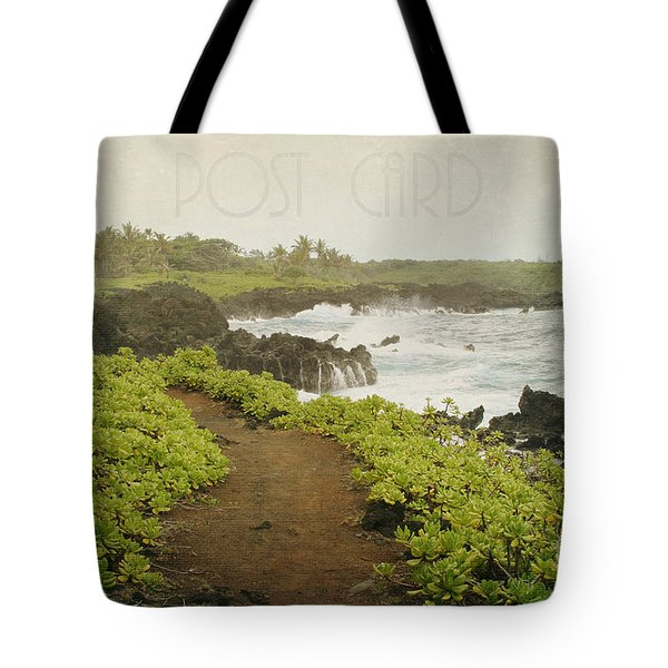 Waianapanapa Tote Bag by Sharon Mau