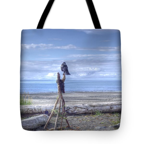 Waiting And Watching Tote Bag by Michele Cornelius