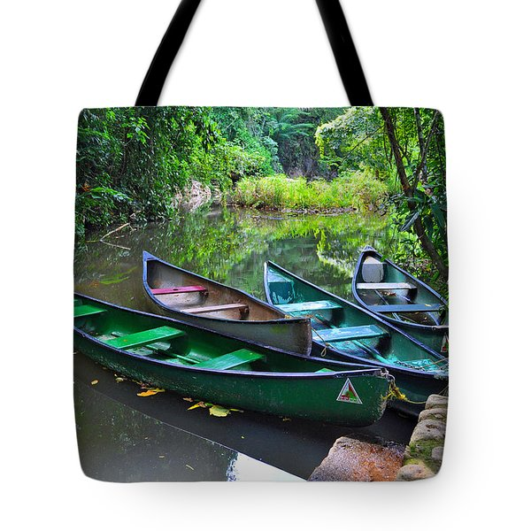 Waiting For Passengers Tote Bag by Li Newton