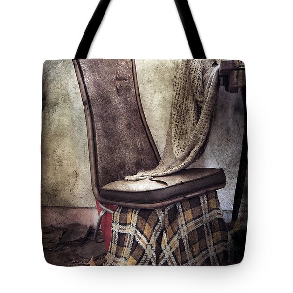 Waiting For Soup Tote Bag by Empty Wall