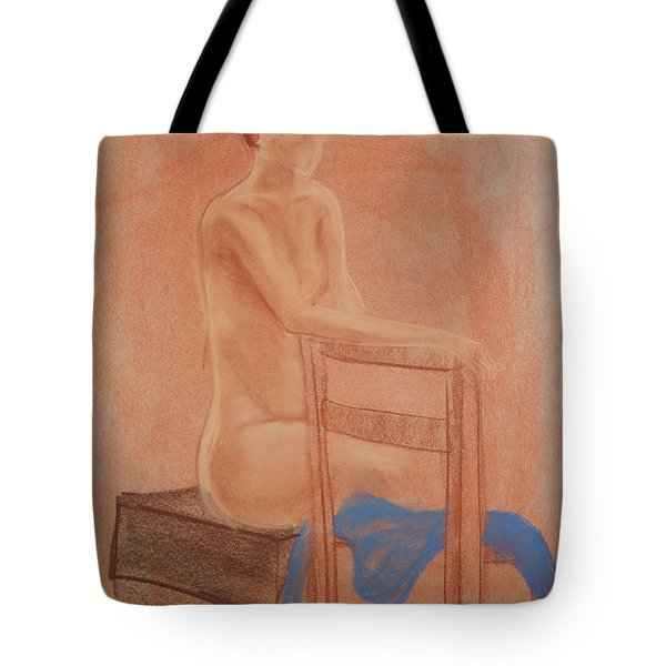 Waiting Naturally Tote Bag by Lj Lambert