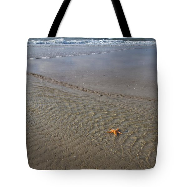 Waiting To Be Discovered Tote Bag by Betsy Knapp