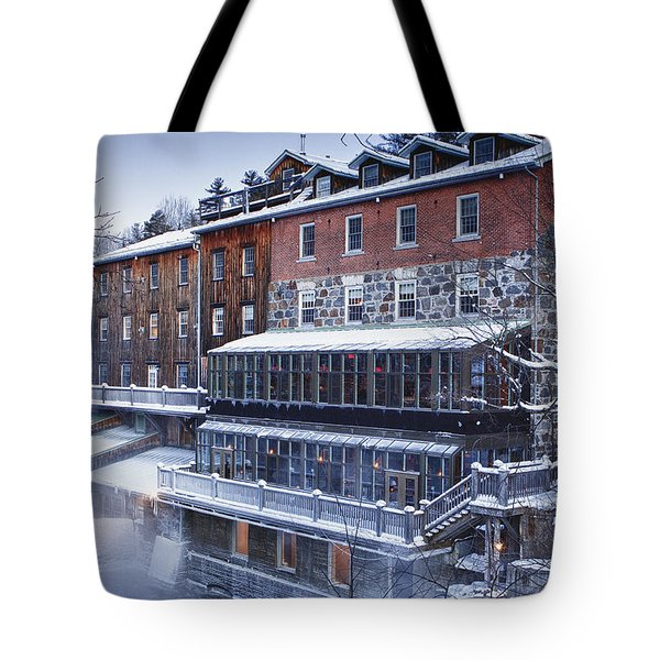 Wakefield Inn Tote Bag by Eunice Gibb
