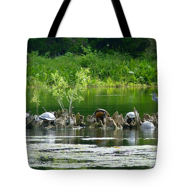Wakulla Springs Wildlife Tote Bag