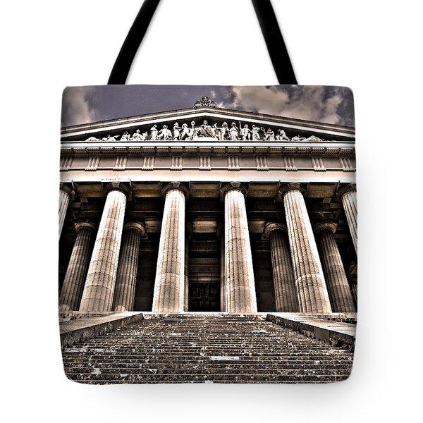 Walhalla ... Tote Bag by Juergen Weiss