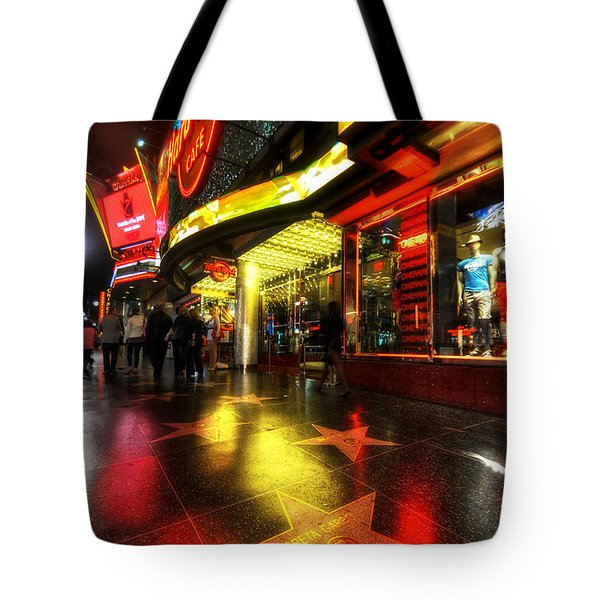 Walk Of Fame Tote Bag by Yhun Suarez