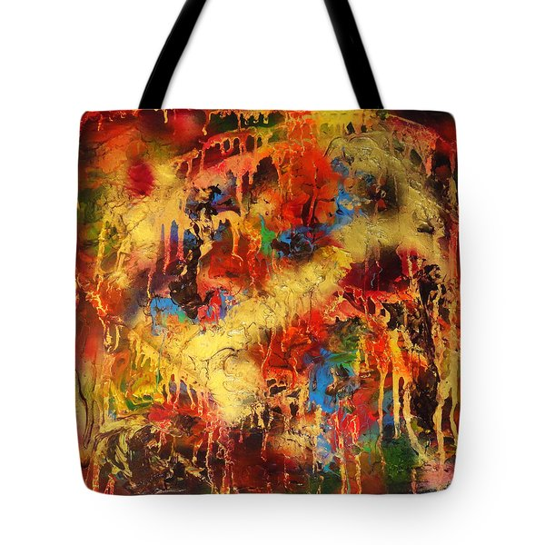 Walk Through The Fire Tote Bag