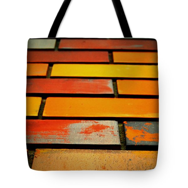Wall Of Race Tote Bag by Jerry Cordeiro