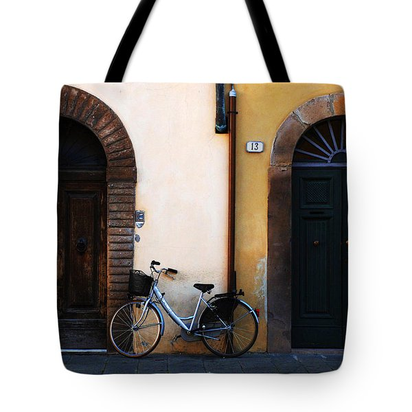 Walled City Of Lucca Tote Bag by Bob Christopher