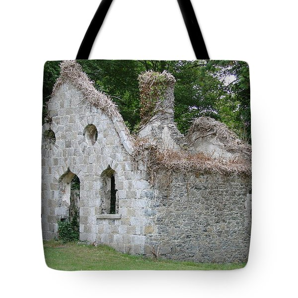 Tote Bag featuring the photograph Walls For The Winds by Charlie and Norma Brock