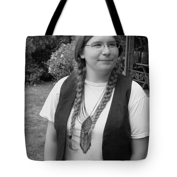 Wanted To Be Janis Joplin Tote Bag by Kym Backland