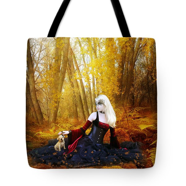 Warm Friends Tote Bag by Mary Hood