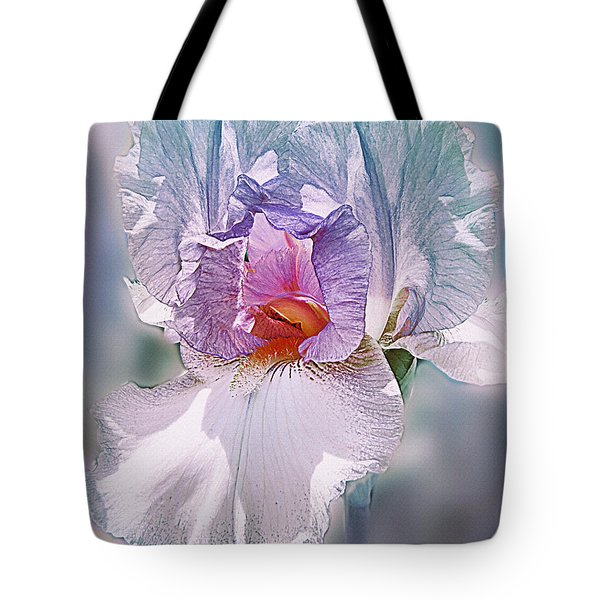 Tote Bag featuring the digital art Warm Hearted by Mary Almond