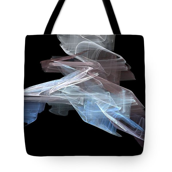 Tote Bag featuring the digital art Warp Speed by John Pangia