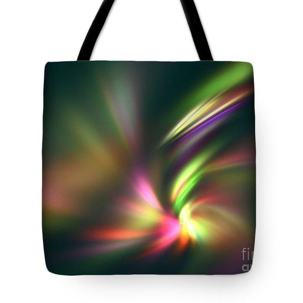Warp Speed Tote Bag by Kim Sy Ok