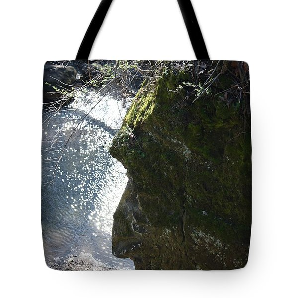 Warrior Rock Tote Bag
