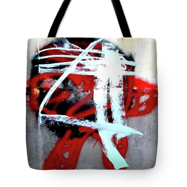 Tote Bag featuring the photograph Was Here by Newel Hunter