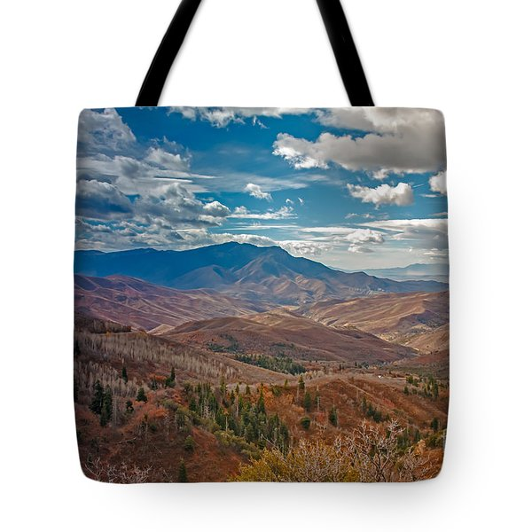 Wasatch Range  Tote Bag