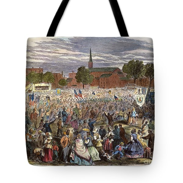 Washington: Abolition, 1866 Tote Bag by Granger