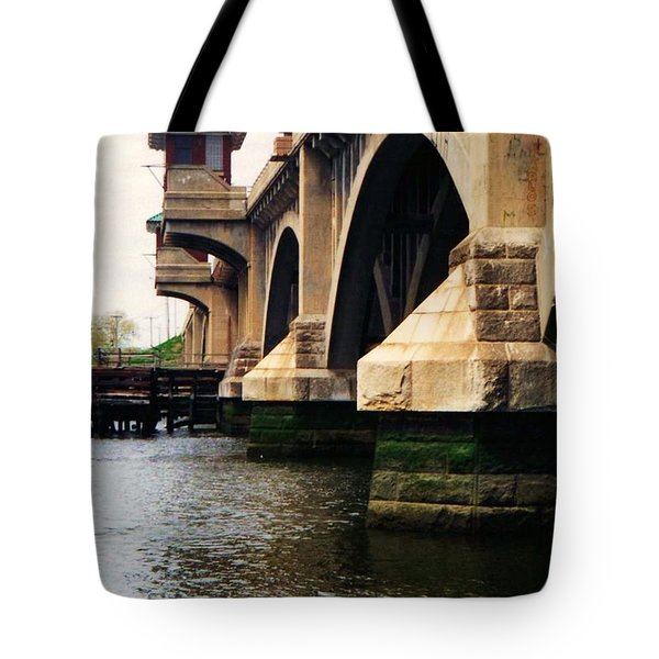 Washington Bridge Tote Bag
