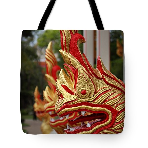Wat Chalong 3 Tote Bag