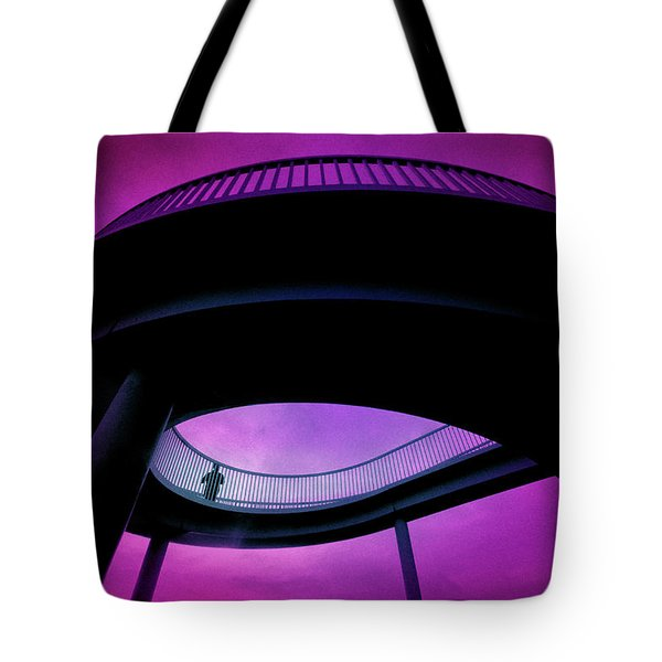 Watching - Waiting Tote Bag by Richard Piper