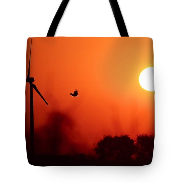 Watching The Sunrise Tote Bag by Elizabeth Budd