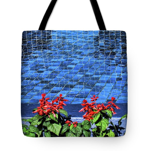 Water And Mirrors Tote Bag