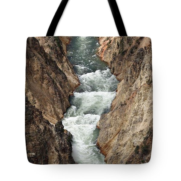 Water And Rock Tote Bag by Living Color Photography Lorraine Lynch