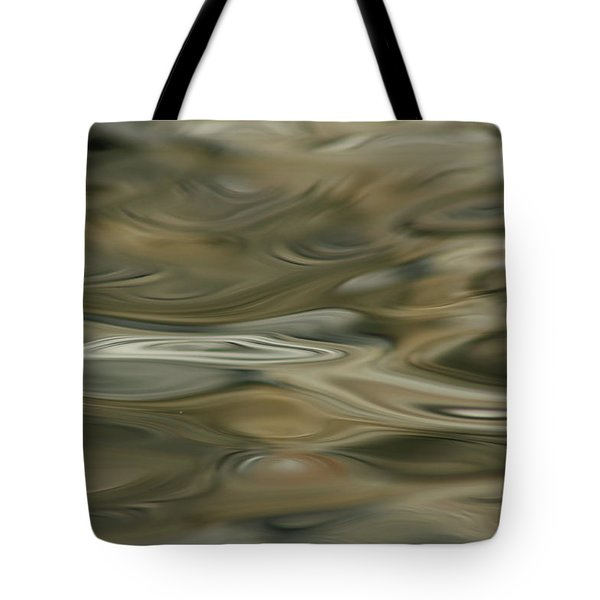 Tote Bag featuring the photograph Water And Rocks  by Cathie Douglas
