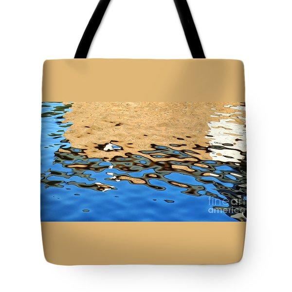 Water Art Tote Bag by Kaye Menner