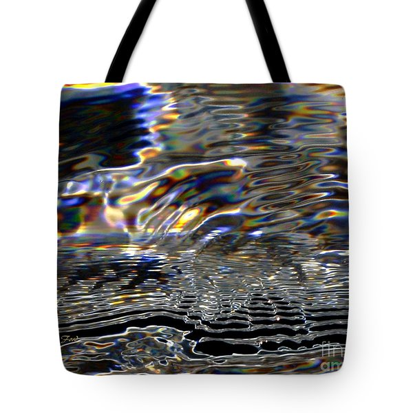 Water As Prism Tote Bag