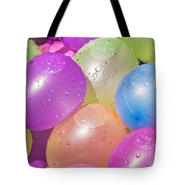 Water Balloons Tote Bag by Patrick M Lynch