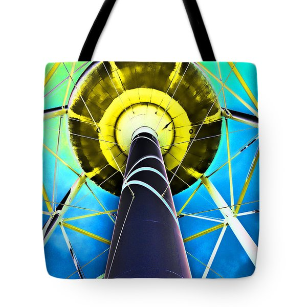 Water Belly Iv Tote Bag by Debbie Portwood