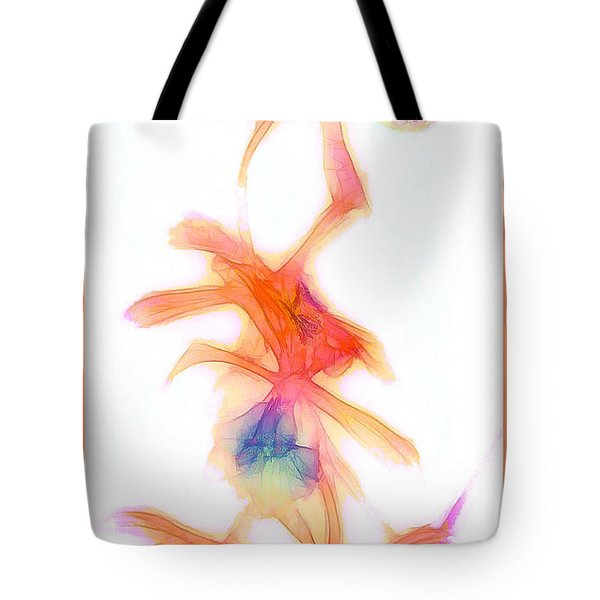 Water Color Orchids Tote Bag by Judi Bagwell
