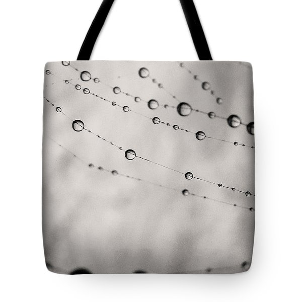 Water Drops 2 Tote Bag by Sumit Mehndiratta