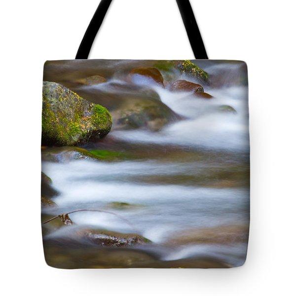 Water Flows Gently Tote Bag