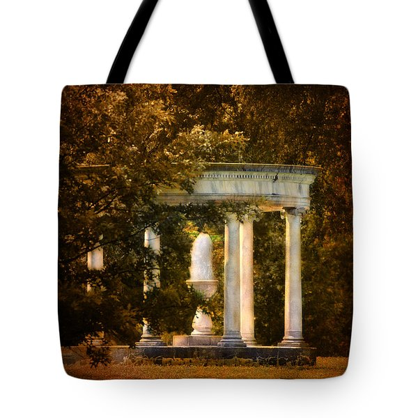 Water Fountain Tote Bag by Jai Johnson